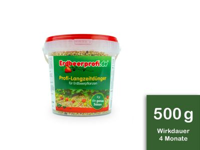 Profi- Erdbeeren- Langzeitdünger, 500 Gramm